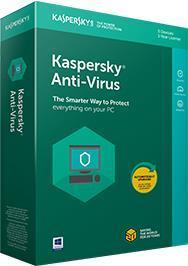 SW RET KAV 2018 1YEAR 2WKS/BASE KL1171XUBFS KASPERSKY