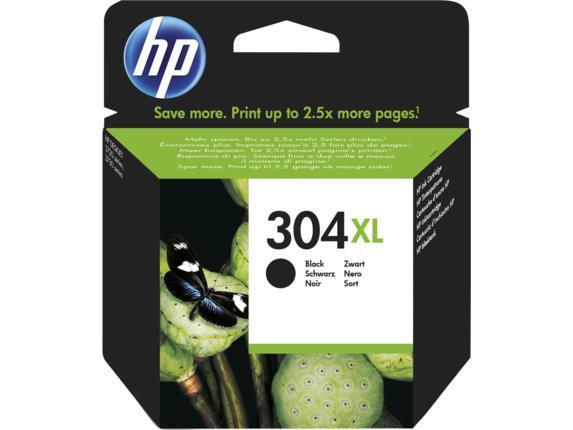 INK CARTRIDGE BLACK NO.304XL/5.5ML N9K08AE HP