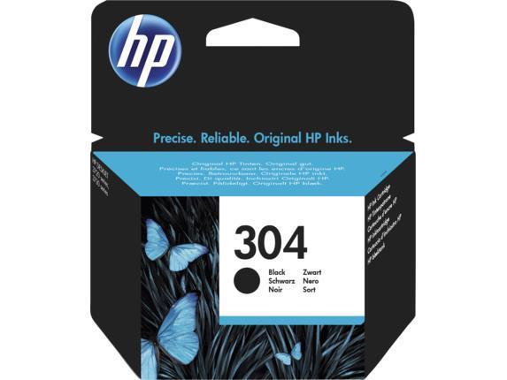 INK CARTRIDGE BLACK NO.304/N9K06AE HP