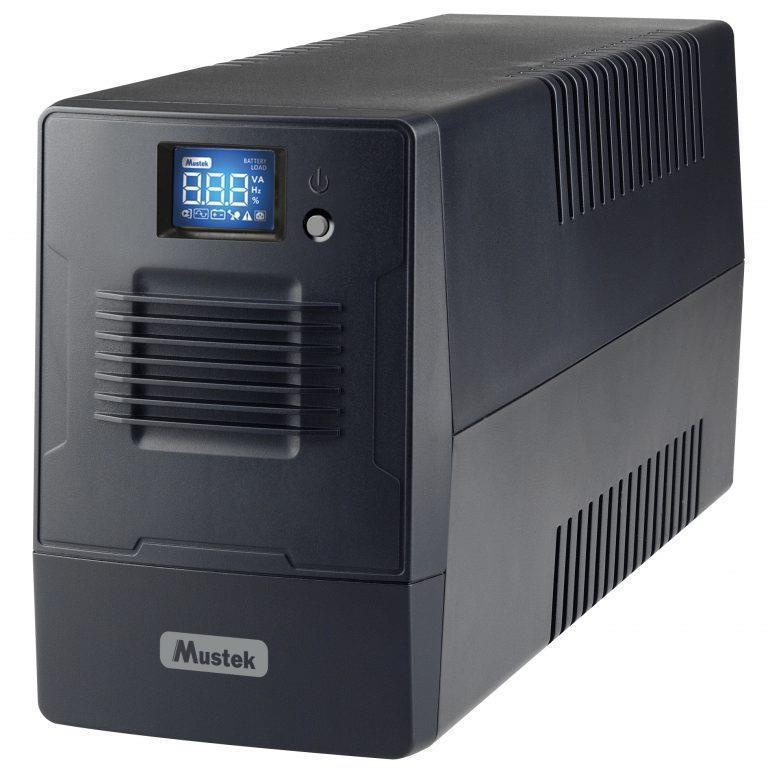 UPS|MUSTEK|360 Watts|600 VA|Wave form type Simulated sinewave|LineInteractive|600-LCD-LI-T10