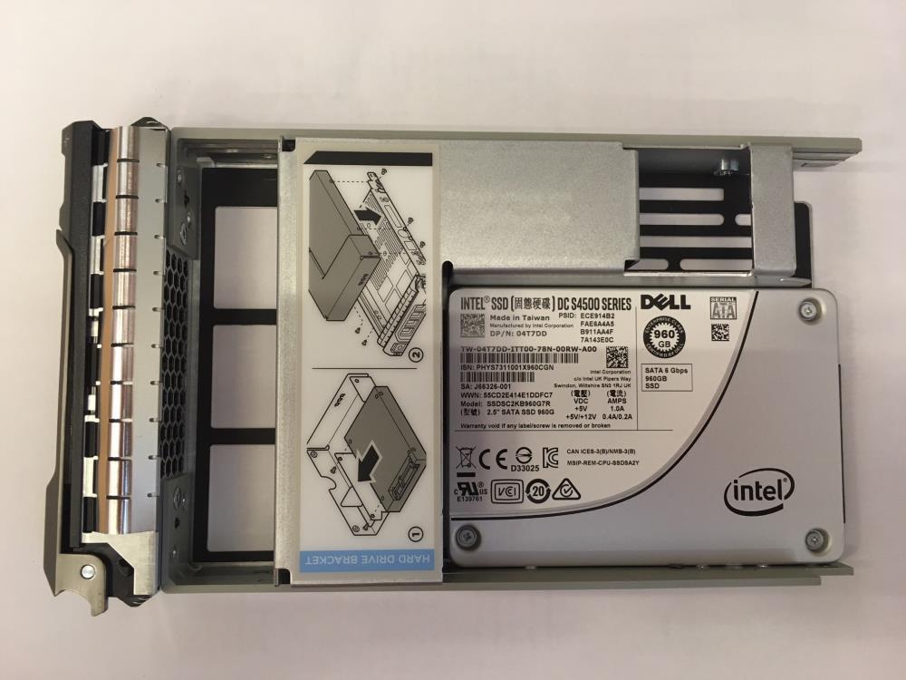 SERVER ACC SSD 960GB SATA RI/3.5'' S4500 400-ATDO DELL