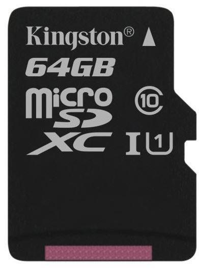 MEMORY MICRO SDXC 64GB UHS-I/SDCS/64GBSP KINGSTON