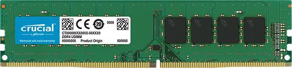 MEMORY DIMM 16GB PC21300 DDR4/CT16G4DFD8266 CRUCIAL