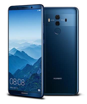 "Smartphone   HUAWEI   Mate 10 Pro   128 GB   Midnight Blue   OS Android 8.0   Screen  6""   1080 x 2160   OLED   Dual SIM   1xUSB type C   1xNano-SIM card tray   Camera 20MP+12MP   8MP   Fingerprint reader   Battery 4000 mAh   51091VXK"