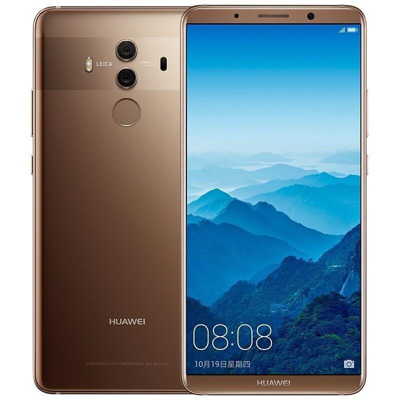 "Smartphone | HUAWEI | Mate 10 Pro | 128 GB | Brown | OS Android 8.0 | Screen  6"" | 1080 x 2160 | OLED | Dual SIM | 1xUSB type C | 1xNano-SIM card tray | Camera 20MP+12MP | 8MP | Fingerprint reader | Battery 4000 mAh | 51091VXH"
