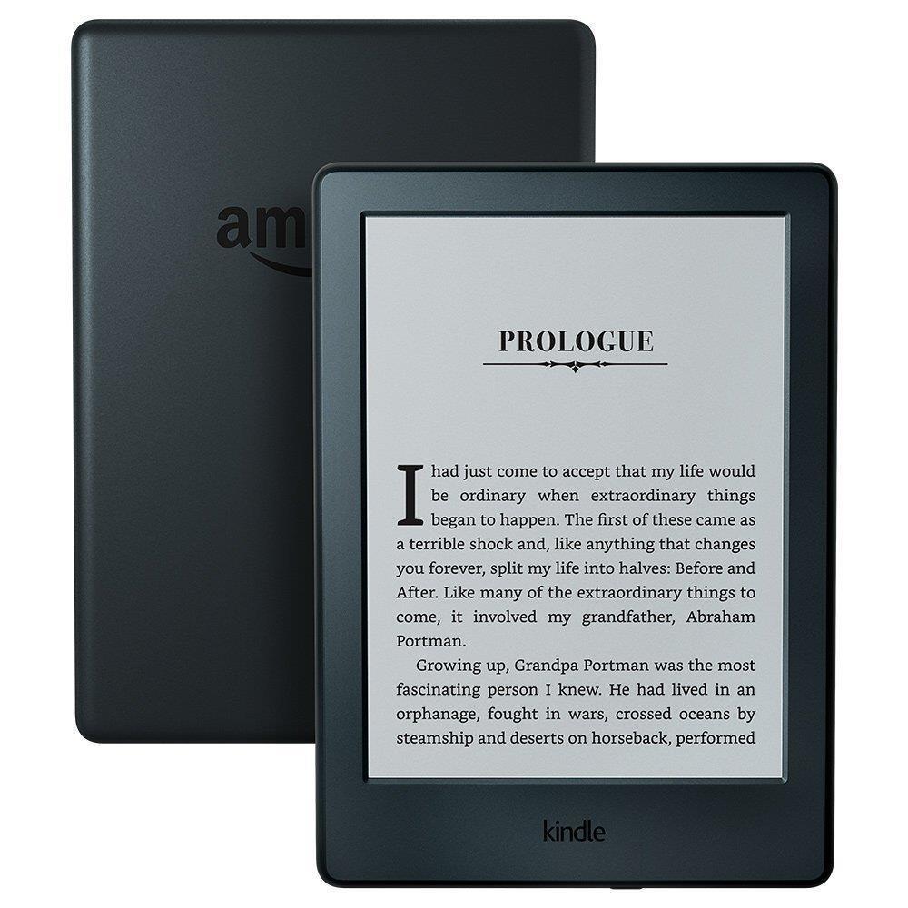 "E-Reader | AMAZON | Kindle | 6"" | 1xMicro-USB | Wireless LAN | Black | B00ZV9PXP2"