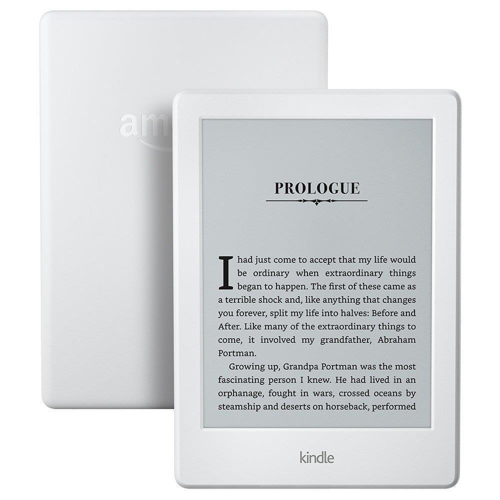 "E-Reader | AMAZON | Kindle | 6"" | 1xMicro-USB | Wireless LAN | White | B017JG41PC"