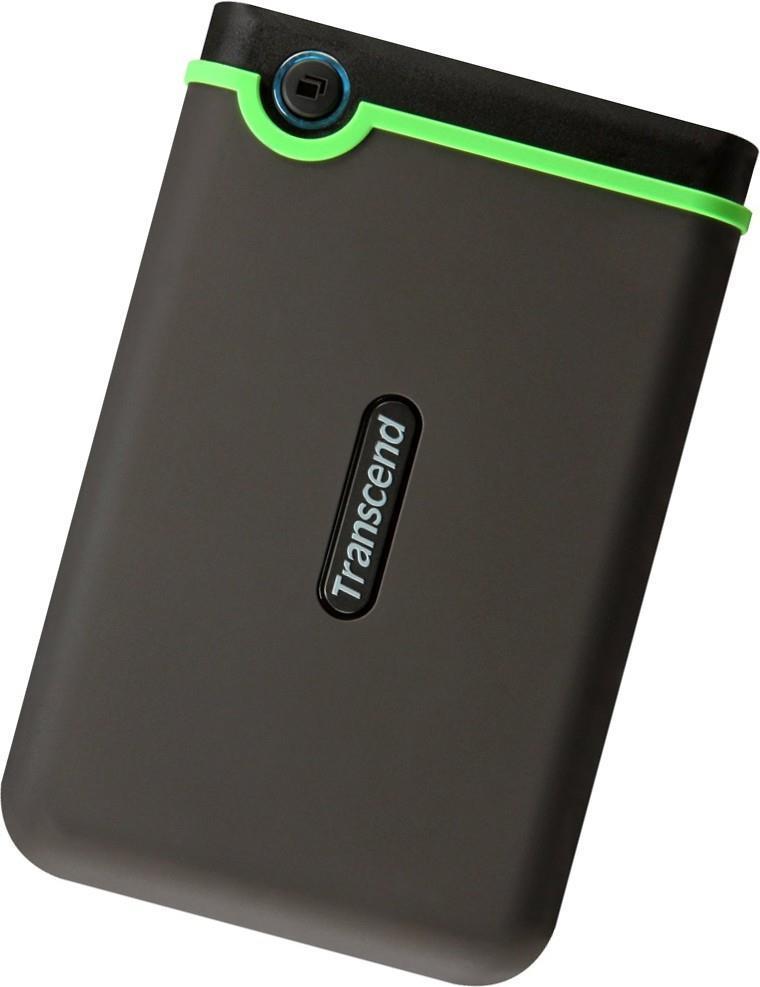 External HDD TRANSCEND StoreJet 1TB USB 3.0 Colour Green TS1TSJ25M3S