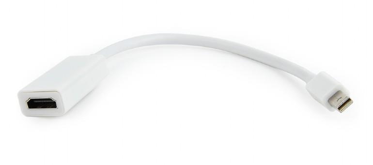 I/O ADAPTER MINI-DP TO HDMI/A-MDPM-HDMIF-02-W GEMBIRD