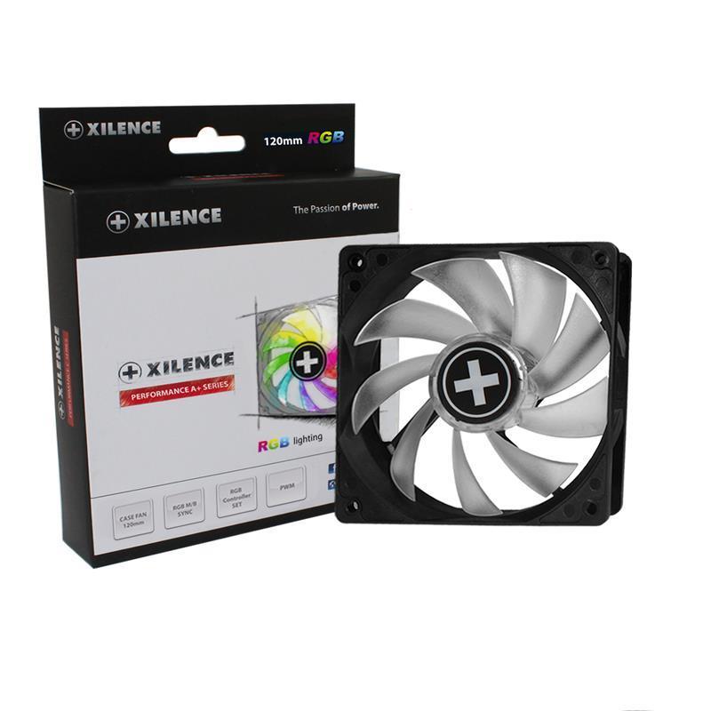 CASE FAN 120MM RGB 4PIN PWM/12V XF061 XILENCE