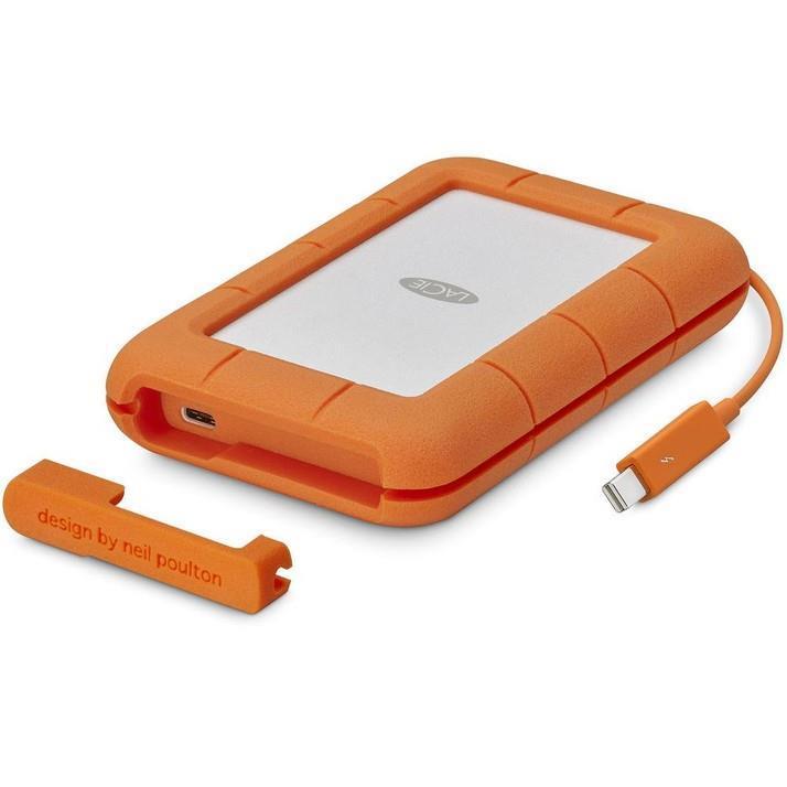External HDD|LACIE|4TB|USB-C|Colour Orange|STGW4000800