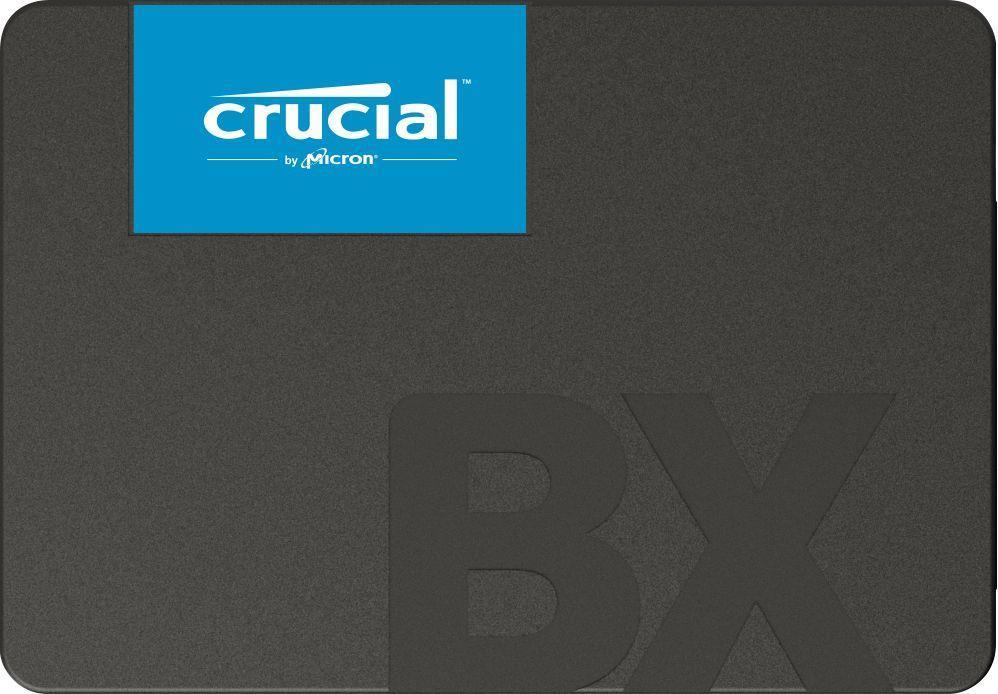 "SSD|CRUCIAL|BX500|480GB|SATA 3.0|Write speed 500 MBytes/sec|Read speed 540 MBytes/sec|2,5""|TBW 120 TB|MTBF 1500000 hours|CT480BX500SSD1"