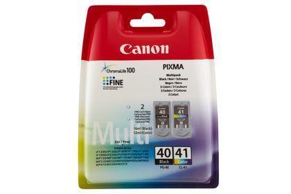 INK CARTRIDGES BLACK+COLOR/PG-40/CL-41 0615B043 CANON