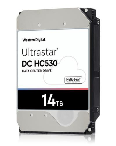 "HDD WESTERN DIGITAL ULTRASTAR Ultrastar DC HC530 WUH721414ALE6L4 14TB SATA 3.0 512 MB 7200 rpm 3,5"" 0F31284"