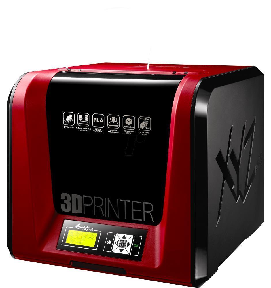 3D Printer XYZPRINTING Technology Fused Filament Fabrication da Vinci Jr. 1.0 Pro size 42 x 43 x 38 cm 3F1JPXEU01B
