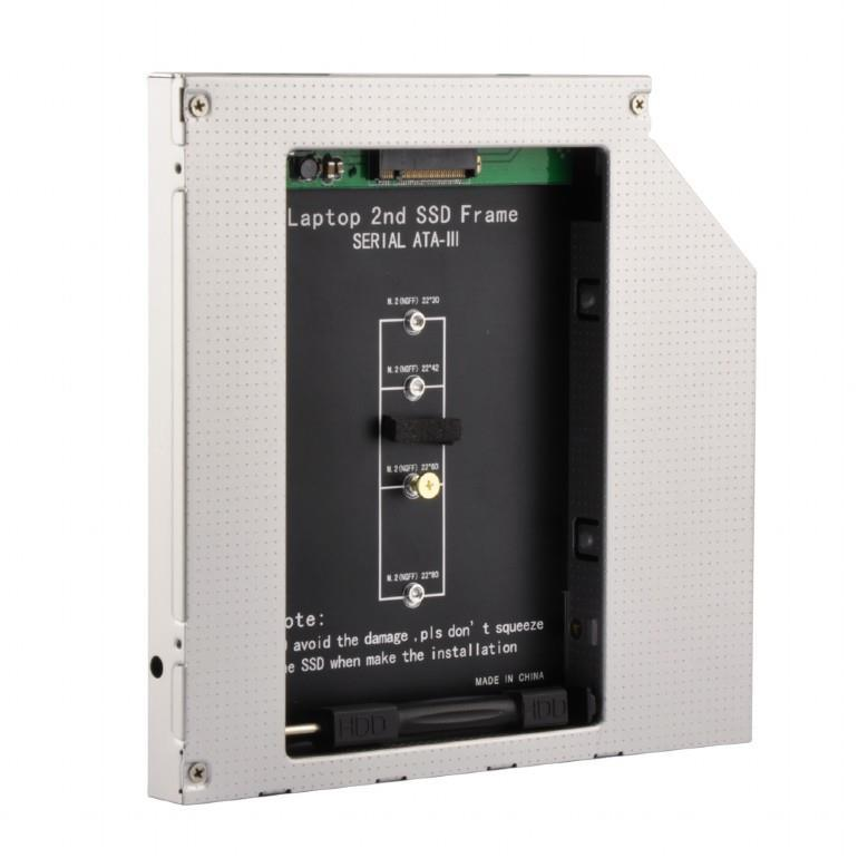 """SSD ACC MOUNTING FRAME M.2/TO 5.25"""" A-SATA12M2-01 GEMBIRD"""