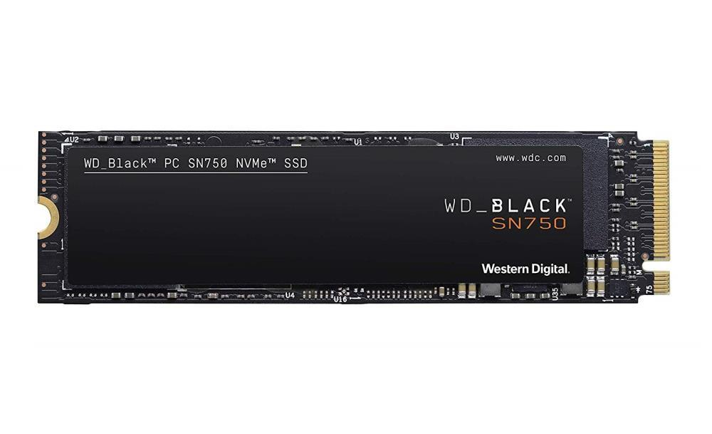 SSD|WESTERN DIGITAL|Black SN750|1TB|M.2|PCIE|NVMe|Write speed 3000 MBytes/sec|Read speed 3470 MBytes/sec|2.38mm|TBW 600 TB|MTBF 1750000 hours|WDS100T3X0C