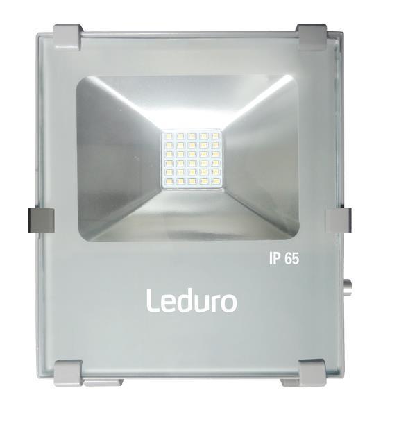 Lamp LEDURO Power consumption 30 Watts Luminous flux 3000 Lumen 4000 K 220-240V Beam angle 100 degrees 46530