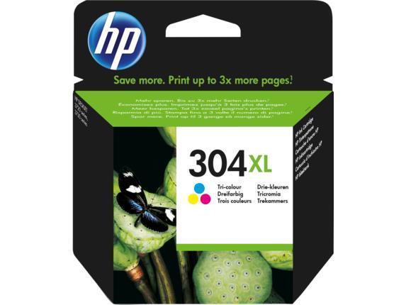 INK CARTRIDGE COLOR NO.304XL/N9K07AE HP