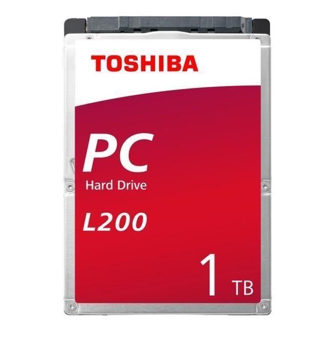 """HDD TOSHIBA L200 1TB SATA 3.0 128 MB 5400 rpm 2,5"""" Thickness 7mm HDWL110UZSVA"""