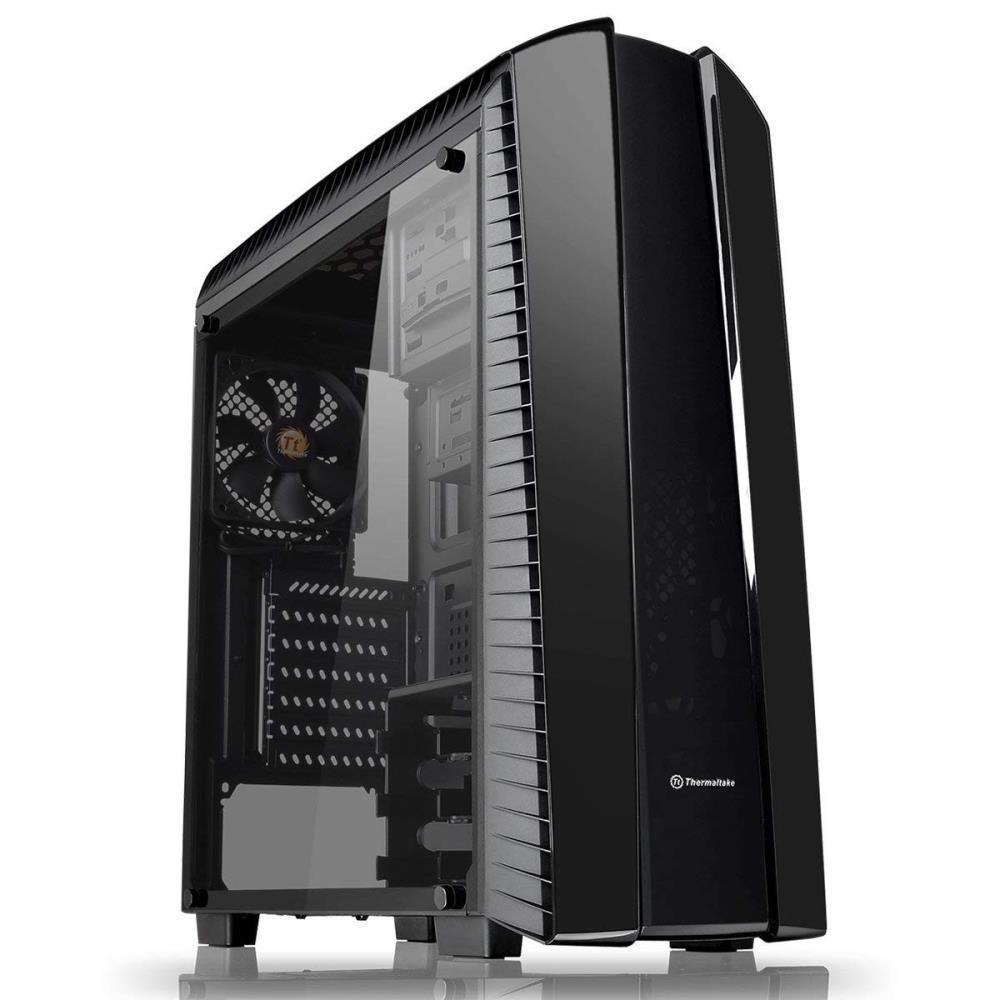 Case|THERMALTAKE|Versa N27|MidiTower|Not included|ATX|MicroATX|MiniITX|Colour Black|