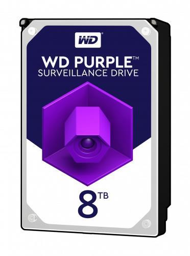 """HDD WESTERN DIGITAL Purple 8TB SATA 3.0 256 MB 7200 rpm 3,5"""" WD82PURZ"""