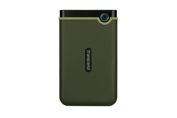 External HDD|TRANSCEND|StoreJet|1TB|USB 3.1|Colour Green|TS1TSJ25M3G