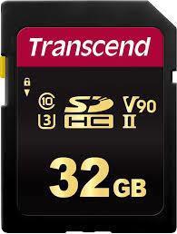 MEMORY SDHC 32GB UHS-II/C3 TS32GSDC700S TRANSCEND