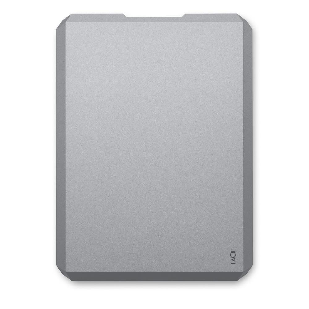 External HDD|LACIE|4TB|USB-C|Colour Space Gray|STHG4000402