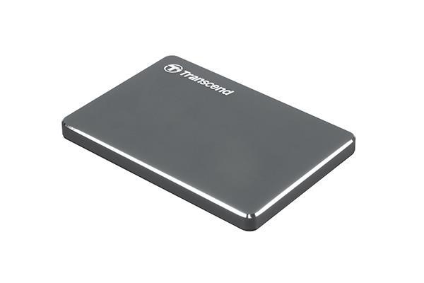 External HDD|TRANSCEND|StoreJet|1TB|USB 3.1|Colour Iron Grey|TS1TSJ25C3N
