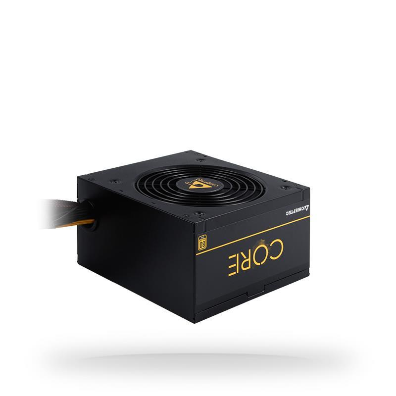 Power Supply|CHIEFTEC|600 Watts|Efficiency 80 PLUS GOLD|PFC Active|BBS-600S