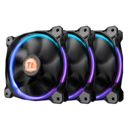CASE FAN 120MM 3-RGB SET/RIING/CL-F042-PL12SW-B THERMALTAKE