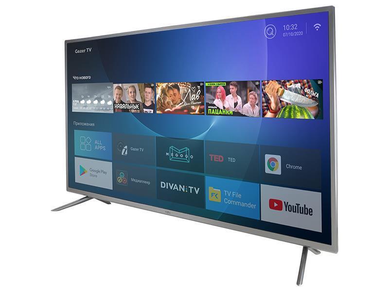 "TV Set|GAZER|43""|Smart/FHD|1920x1080|Wireless LAN|Bluetooth|Android|TV43-FS2G"