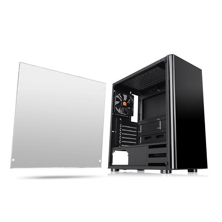 Case|THERMALTAKE|V200 TG|MidiTower|Not included|ATX|MicroATX|MiniITX|Colour Black|CA-1K8-00M1WN-00