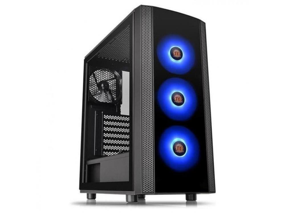 Case|THERMALTAKE|Versa J25 TG RGB|MidiTower|Not included|ATX|MicroATX|MiniITX|Colour Black|CA-1L8-00M1WN-01