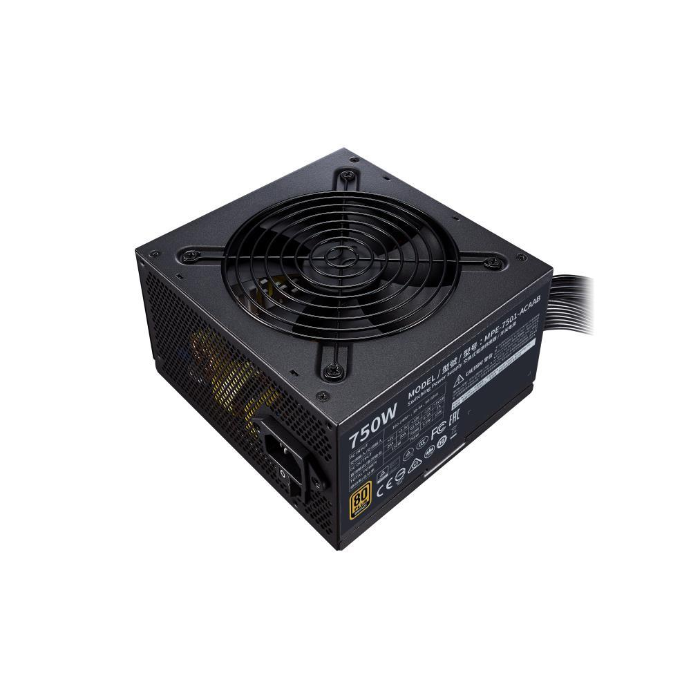 Power Supply|COOLER MASTER|750 Watts|Efficiency 80 PLUS BRONZE|PFC Active|MTBF 100000 hours|MPE-7501-ACAAB-EU