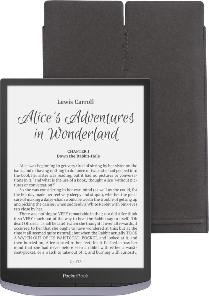 Tablet Case|POCKETBOOK|Black|HPBPUC-1040-BL-S