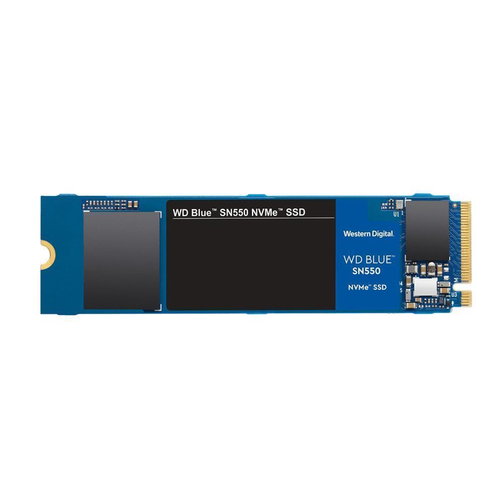 SSD|WESTERN DIGITAL|BLUE SN550|1TB|M.2|PCIE|NVMe|TLC|Write speed 1950 MBytes/sec|Read speed 2400 MBytes/sec|2.38mm|TBW 400 TB|MTBF 1700000 hours|WDS100T2B0C