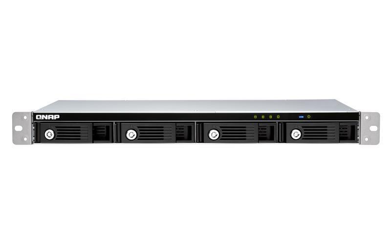NAS STORAGE RACKST 4BAY 1U/USB3 TR-004U QNAP