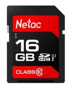 MEMORY SDHC 16GB UHS-I/NT02P600STN-016G-R NETAC