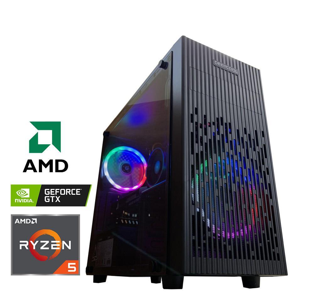 "Kompiuteris ""RYZEN 5 1660"" | AMD Ryzen™ 5 3500X | 8GB DDR4 | 240GB SSD (Skaitymo greitis ~560 MB/s) | GeForce™ GTX 1660 6GB | 180992_r"