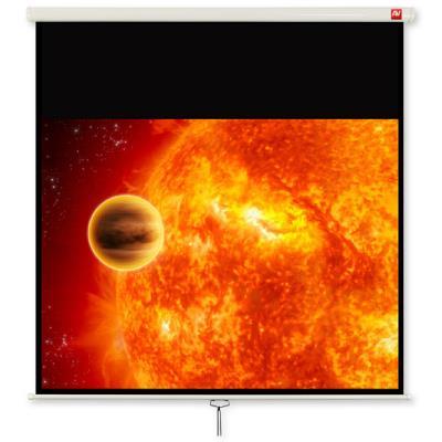 Avtek Wall 4:3 video 175x175 175BT Matt White 1EVS23