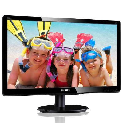 "LED MVA 19.5"" 200V4QSBR/00 16:9 FHD 1920x1080p 10M:1 (typ 3000:1) 250cd 8ms 178/178 VGA/DVI, c:Black"