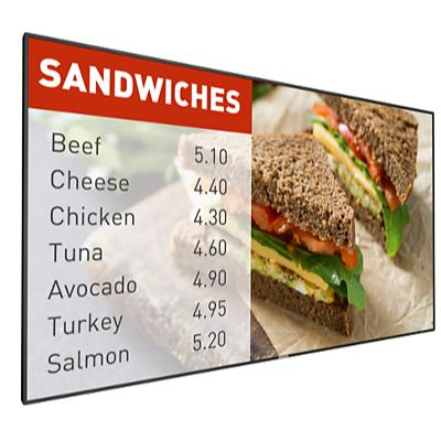 """Philips Signage Solutions P-Line Display 49BDL5057P/00  49"""" Powered by Android 700cd/m² WiFi, HTML5 browser"""