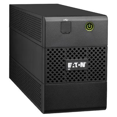Eaton 5E 650VA/360W line-interactive, 1 Schuko (DIN) + 2 IEC C13 (10A), USB