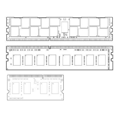 HP 16GB 2Rx4 PC4-2133P-L Kit