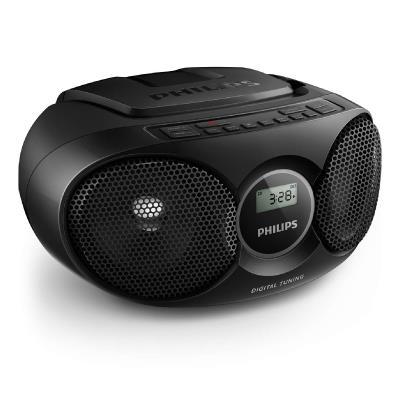 Philips CD Soundmachine AZ215B Black 3W Digital tuning
