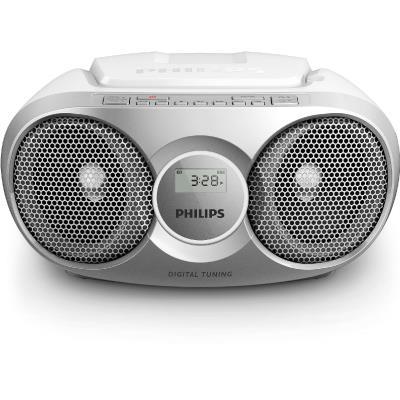 Philips CD Soundmachine AZ215S Silver 3W Digital tuning