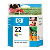 HP no.22 Ink Cart. 3-colour (5 ml)