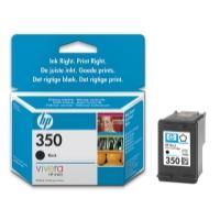 HP no.350 Black Inkjet Print Cartridge with Vivera Ink